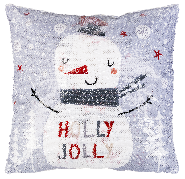 Sequin Xmas Pillow