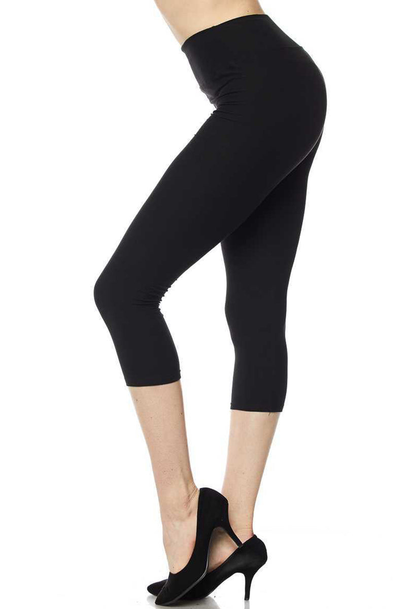 Black Capri Legging