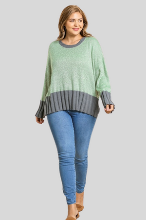 Sage Soft Knit Sweater