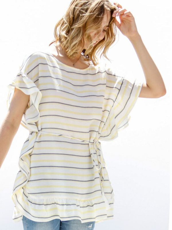Sunny Striped Top