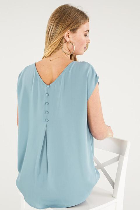 Morley Back Button Tunic