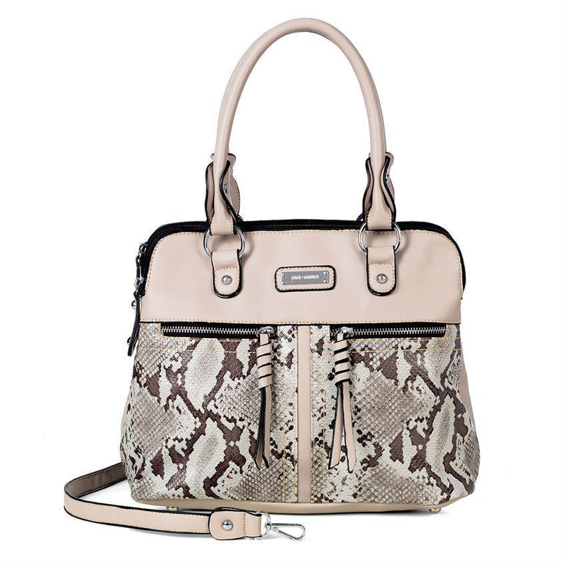 Python Print Double Zip Purse