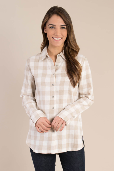 Classic Button Down Plaid