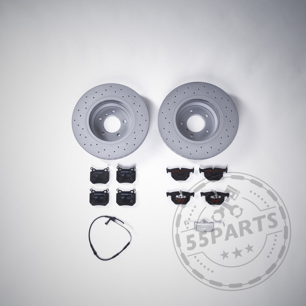 55Parts Special: BMW 1er 2er F2x, 3er F3x 35i, 40i 340mm Bremsen (Upgrade) Set Hinterachse