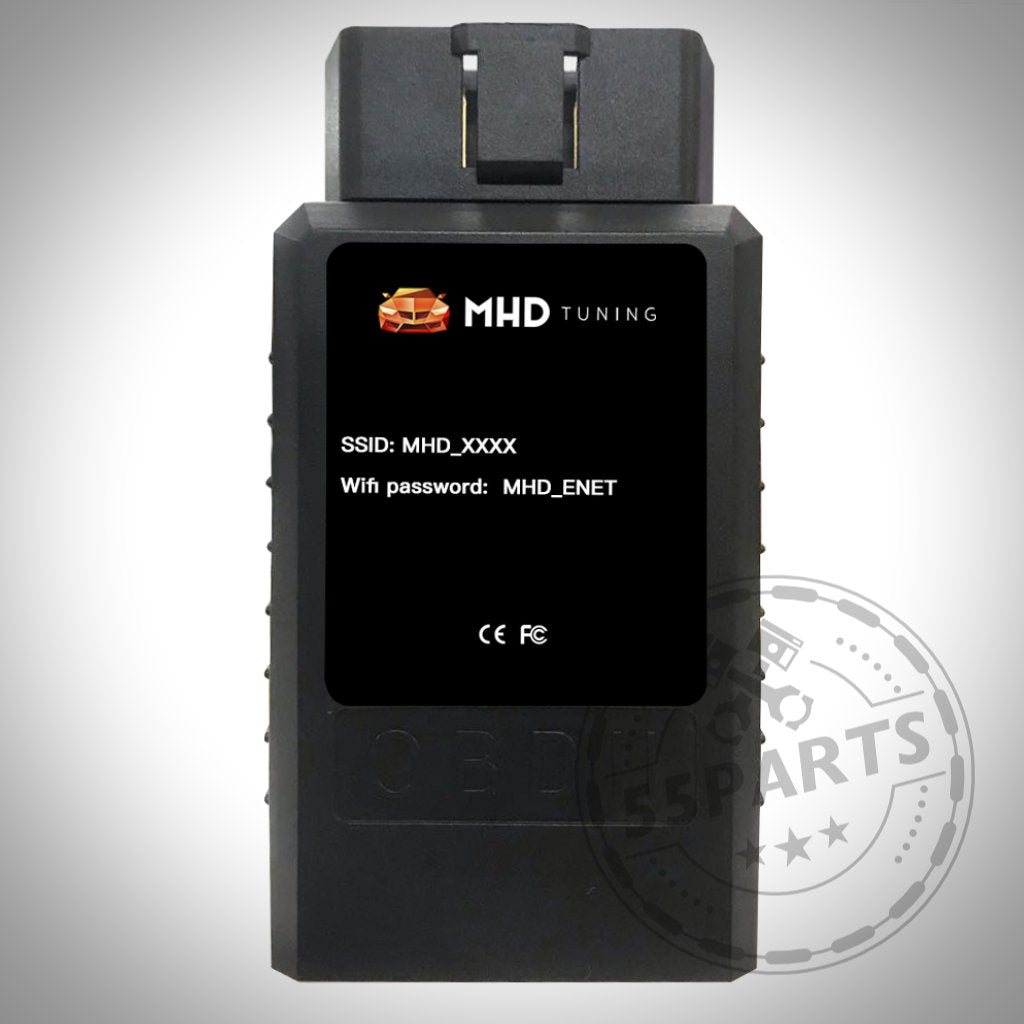 MHD Wireless OBDII WiFi Adapter - Schwarz - 55Parts