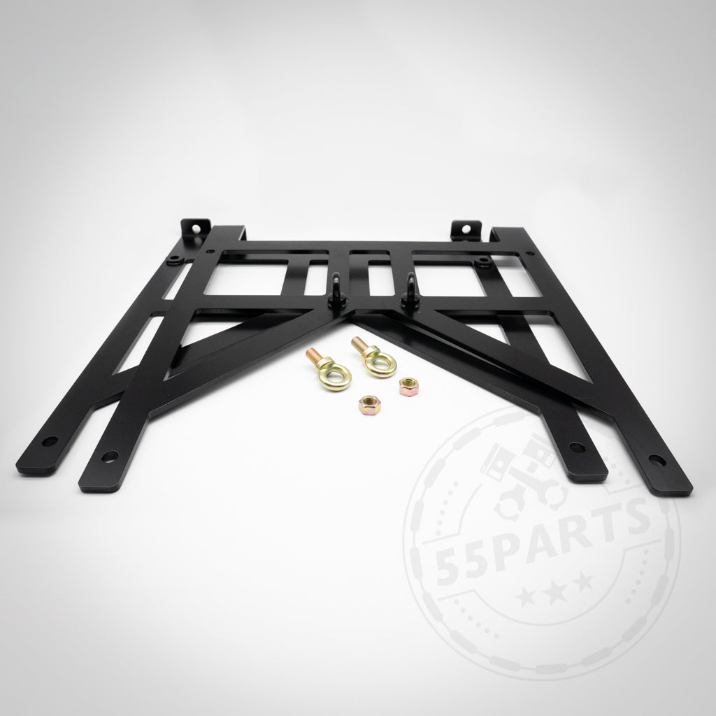 55Parts Exclusive: BMW E- und F- Serie Gurtadapter für 6 Punkt Gurte, Renngurte - 55parts.de