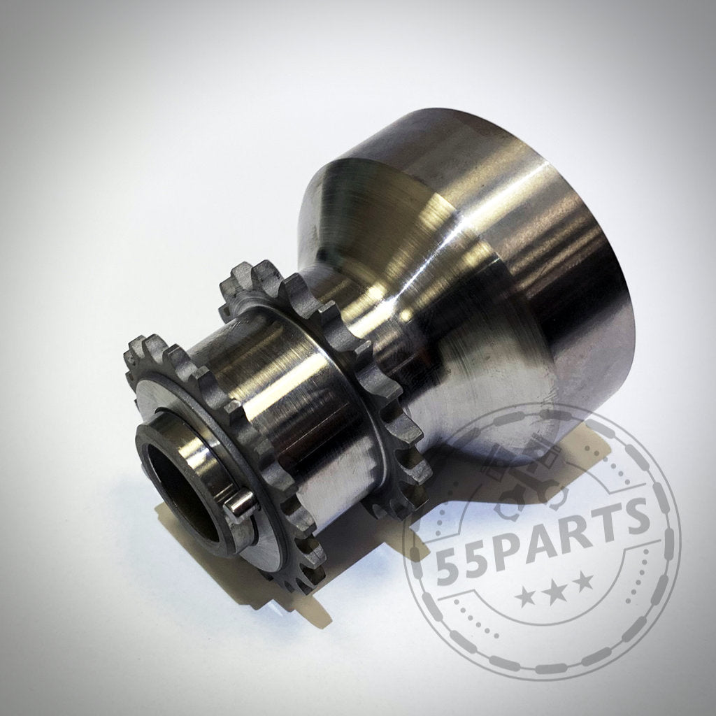 55Parts Exclusive: BMW M2 Competition, M3, M4 S55 + N55 Einteiliger Crank Hub Fix / Kurbelwellensicherung - 55Parts