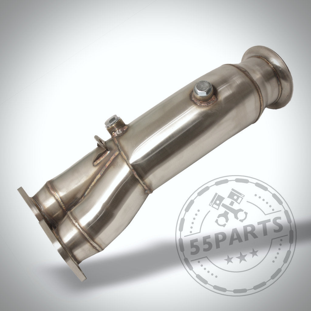 BMW 135i, 335i(x) N55 E-Serie Catless Katlose Downpipe - 55parts.de