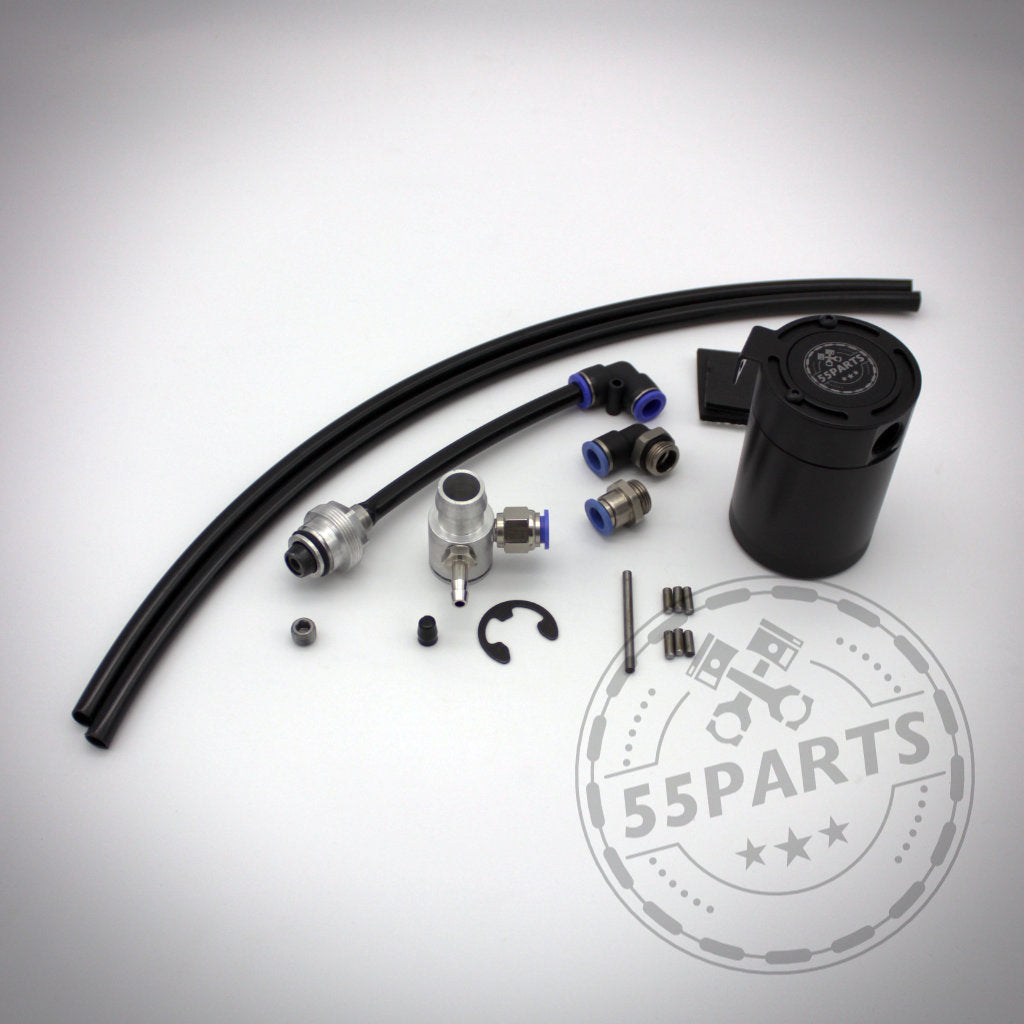 55Parts Exclusive: BMW 135i, 1er M Coupe, 335i(x) N54 Externes PCV System 'Leerlaufseite' - 55parts.de