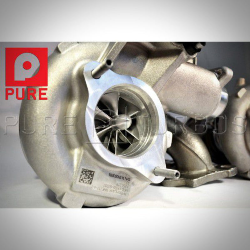 BMW M2 Competition, M3 F80, M4 F8x S55 Pure Stage 2 Upgrade Turbolader - 55parts.de