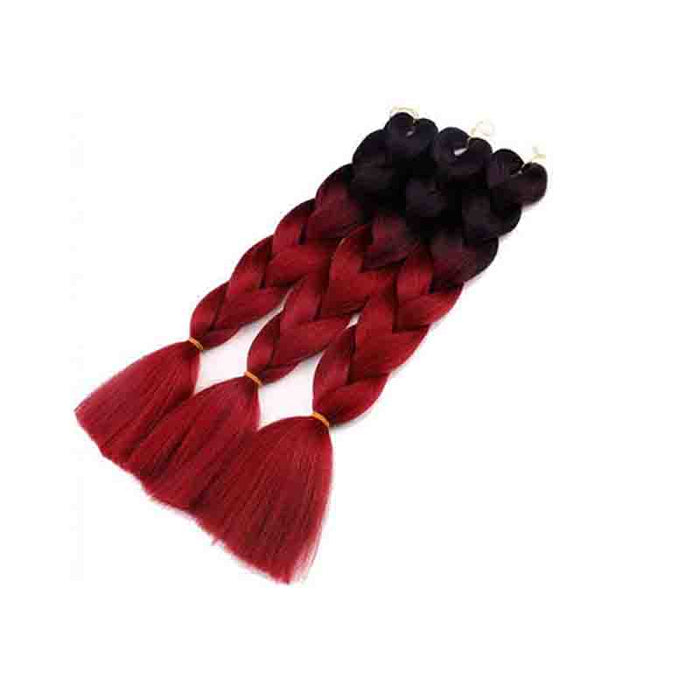 Shyfull African Gradual Change Wine Red Wigs