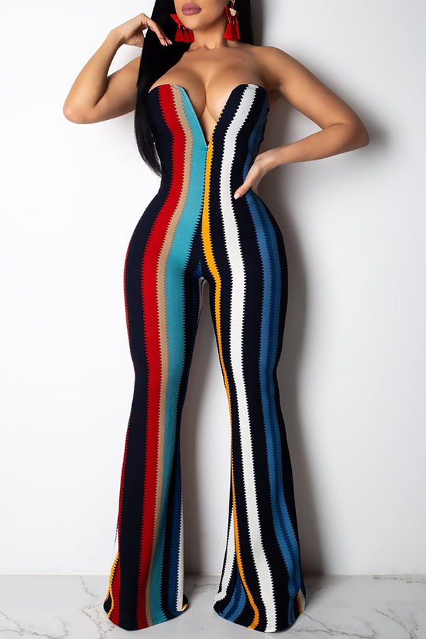 Shyfull Striped Jumpsuit
