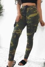 Shyfull Leisure Camouflage Printed  Pants