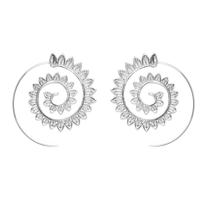 Shyfull Vintage Hollow-out Alloy Earring