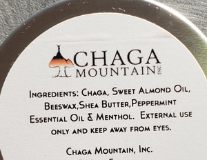 Chaga Soothing Salve