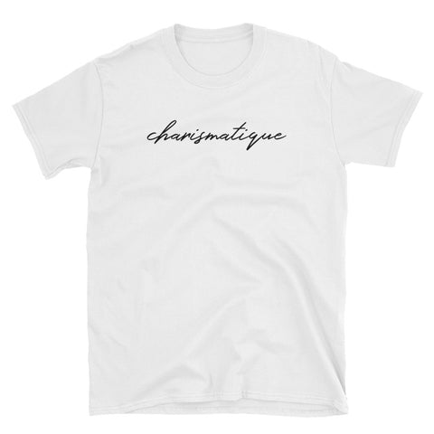 T-shirt Charismatique pour femme - Tee-shirt fashion blanc