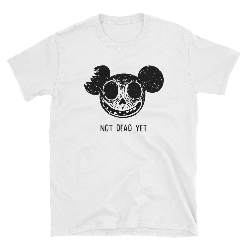 T-shirt Zombie Mickey - Not Dead Yet - T-shirt Homme / Femme