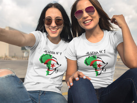 T-shirt foot Algeria N°1 CAN 2019