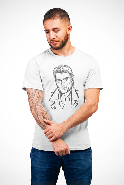 "T-shirt ""Johnny Hallyday"" homme"