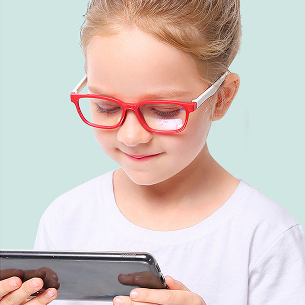 Kids Blue Light Radiation Eye Protection Glasses