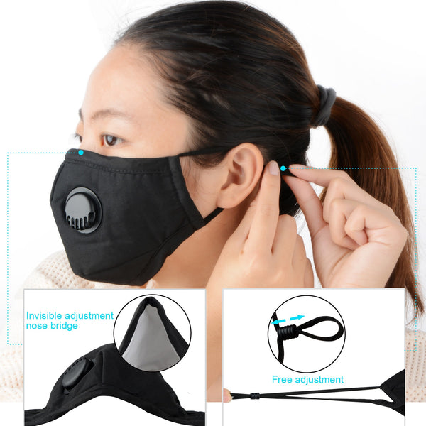 washable respirator mask