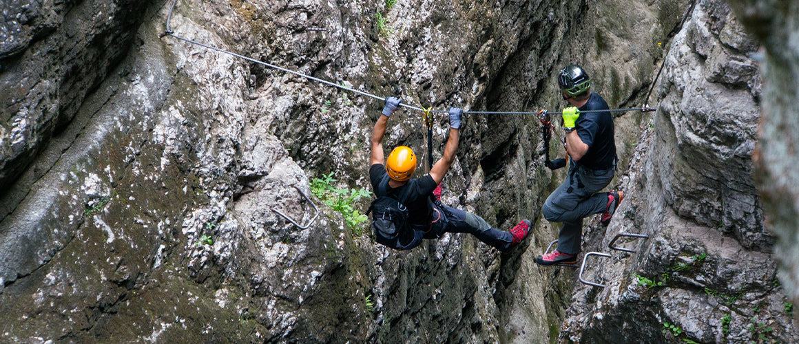 What is a rappelling rope?