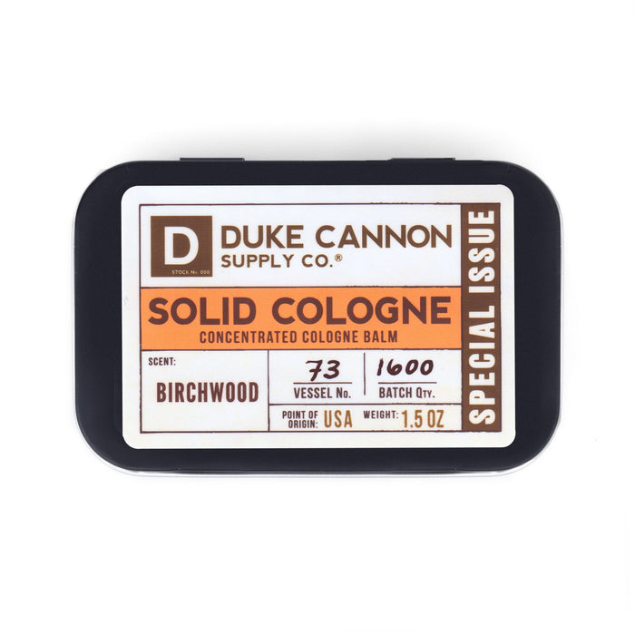 Solid Cologne - Birchwood