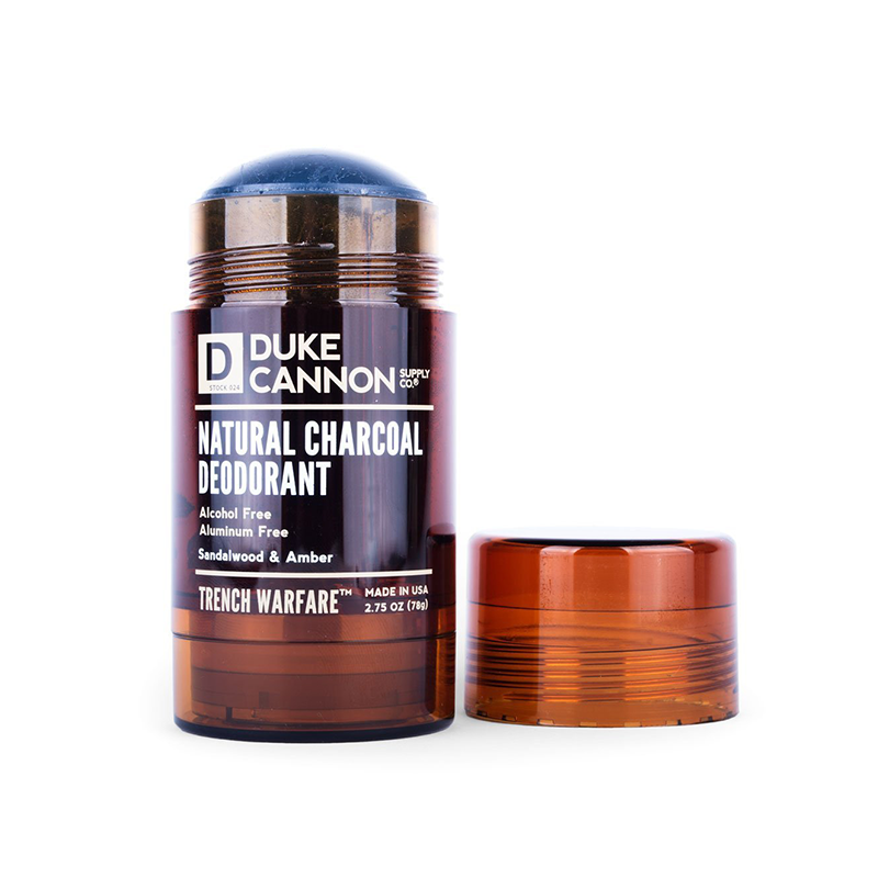 Natural Charcoal Deodorant - Sandalwood & Amber