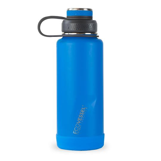 THE BOULDER - INSULATED WATER BOTTLE W/ STRAINER - 32 OZ
