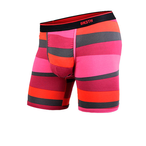CLASSIC BOXER BRIEF PRINT - FUNKY STRIPE RED