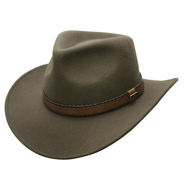 Outback Creek Crushable Wool Hat