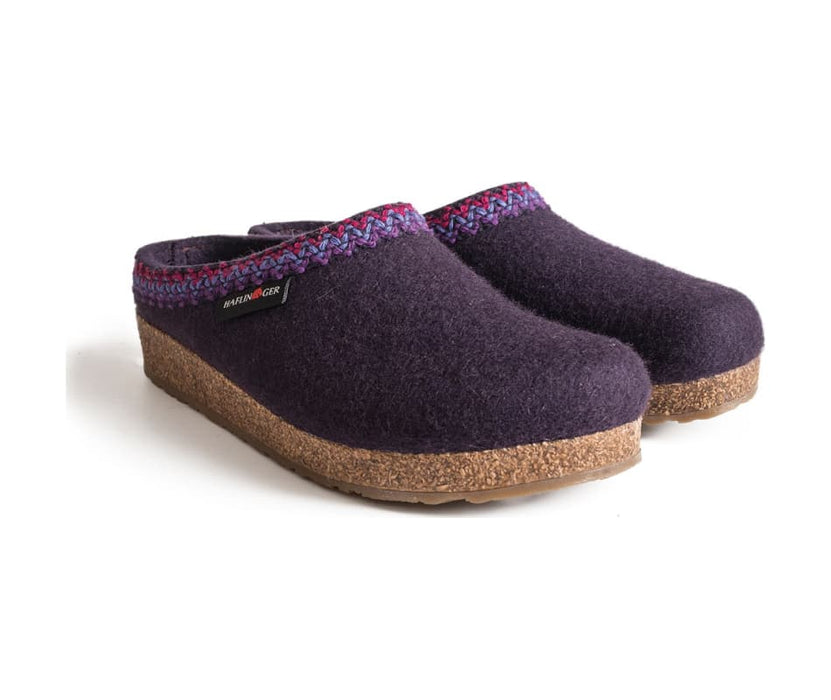 Zig-zag Women's Wool Clogs