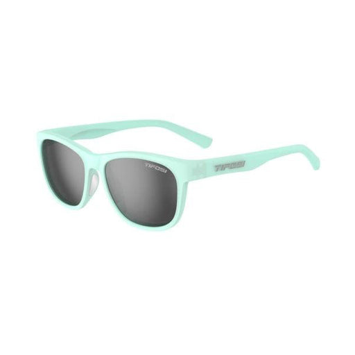 SWANK | SATIN CRYSTAL TEAL SMOKE POLARIZED LENS