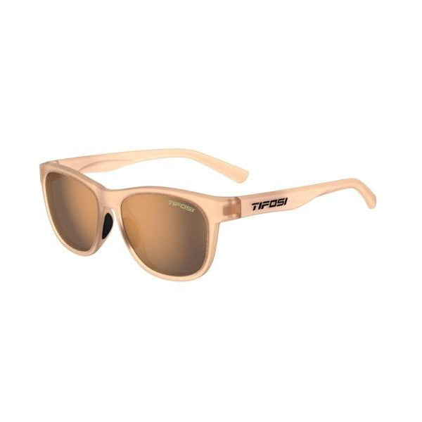 Swank | Satin Crystal Brown Brown Polarized Lens