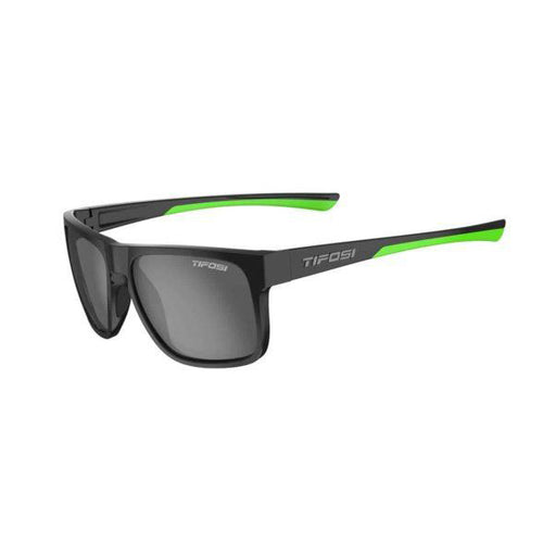 SWICK | SATIN BLACK/NEON SMOKE POLARIZED LENS