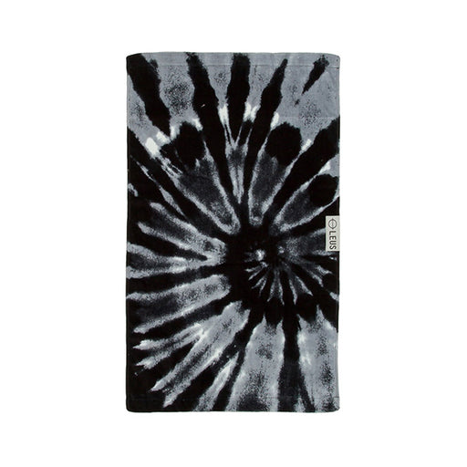 Gym Towel Tie Dye Black 16 X 26