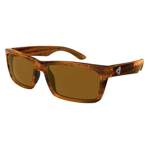 HILLROY Transparent Brown / Brown Lens