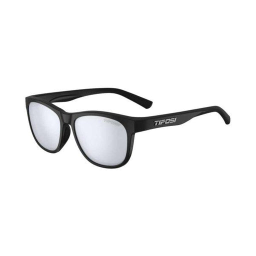 SWANK | SATIN BLACK SMOKE BRIGHT BLUE LENS