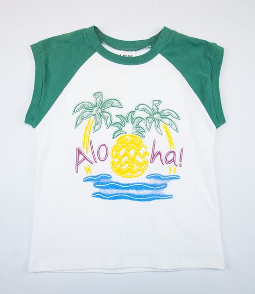 1ST BLUE HAWAII TEE
