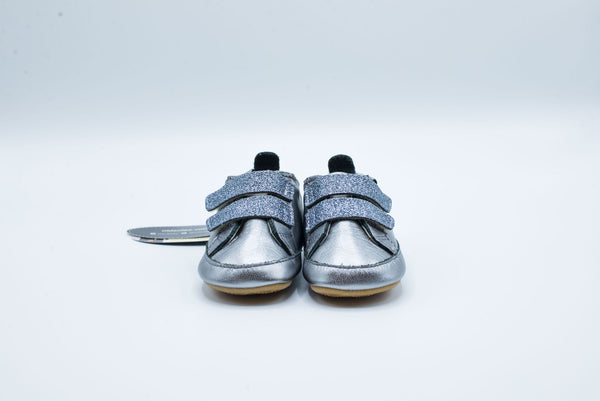 OLDSOLES BAMBINI GLAM RICH SILVER/GLAM GUNMETAL