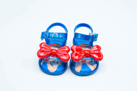 MINI MELISSA MAR SANDAL+SNOW WH SHOE