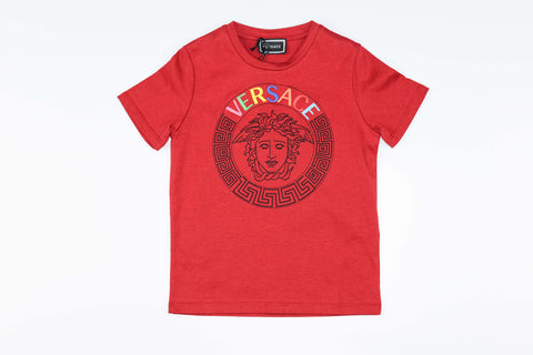 YOUNG VERSACE T-SHIRT EMBROIDERRED