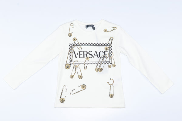 YOUNG VERSACE LONG SLEEVE T-SHIRT
