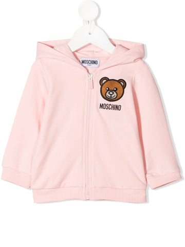 MOSCHINO BABY HOODED SWEATSHIRT