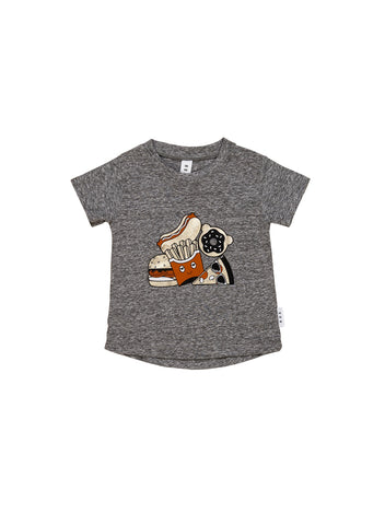 HUXBABY GOLD FOOD T-SHIRT