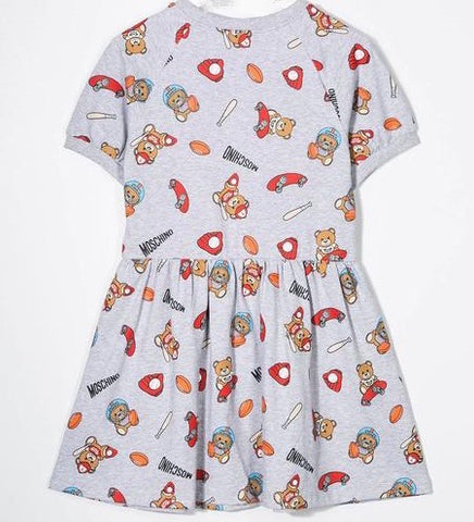 MMOSCHINO GIRLS TOY DRESS