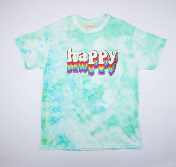 C.LPLUS HAPPY PRINT TEE