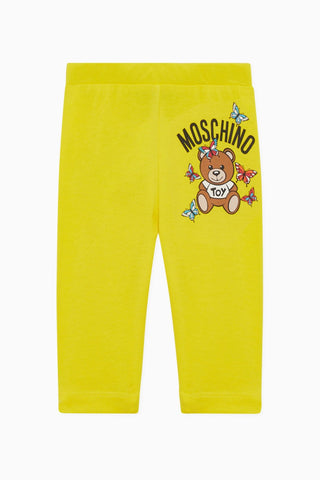 MOSCHINO GIRLS BUTTERFLY LEGGINGS