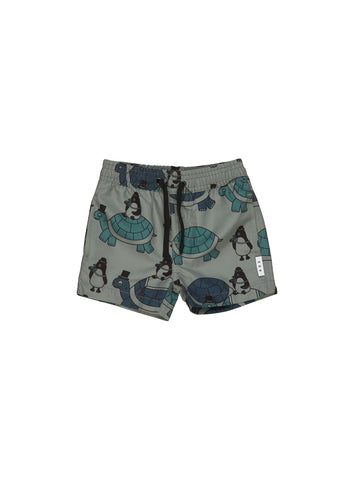 HUXBABY TURTLE TOUR SWIM SHORT