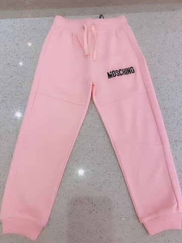 MOSCHINO MINI ME COUTURE SWEATPANTS